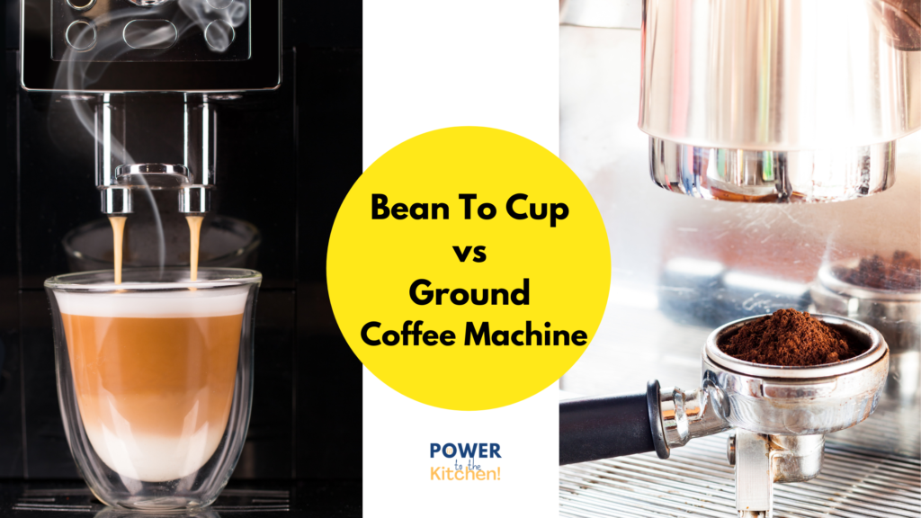 Bean To Cup vs Ground; main image